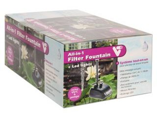 All-in-1 Filter Fountain