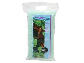 Pond Filter Wool green